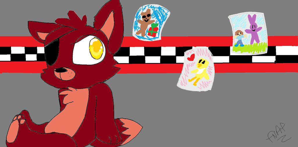 Plush Foxy by veeeester400