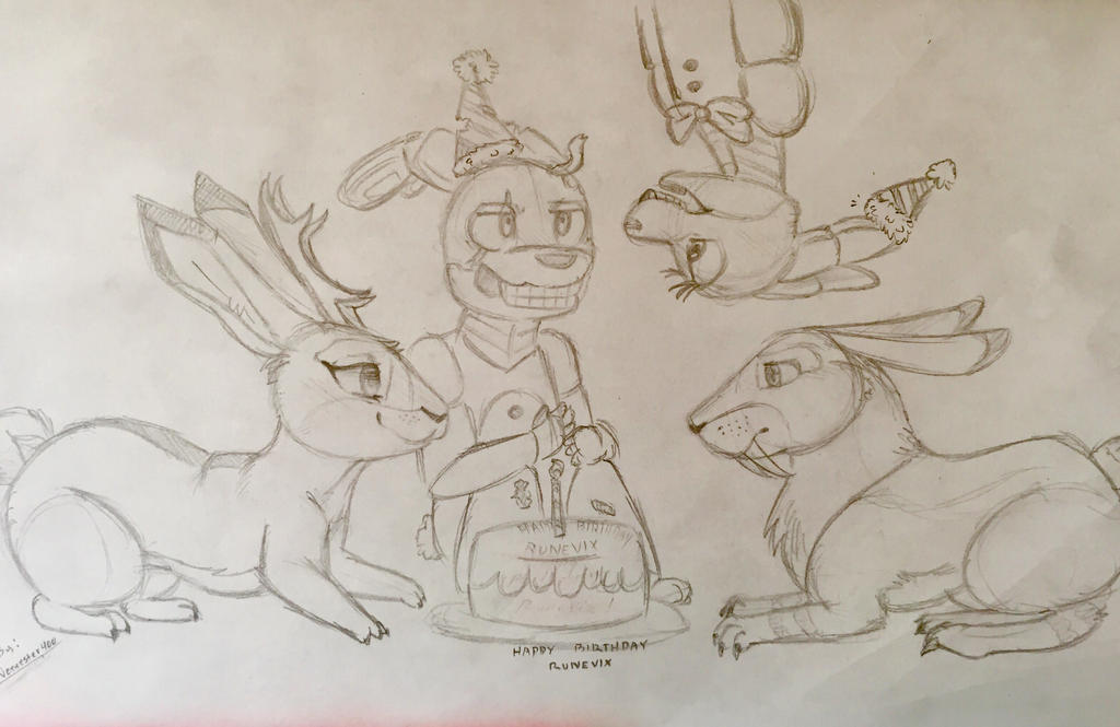 Happy Birthday RuneVix! by veeeester400