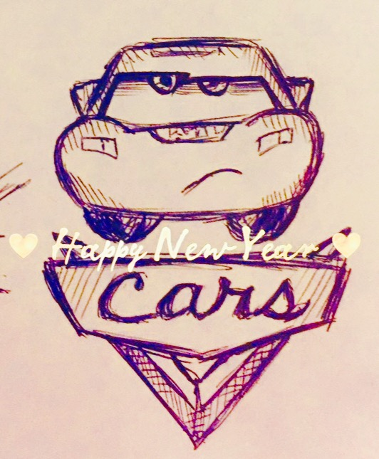 Happy new Year! -CARS- by veeeester400