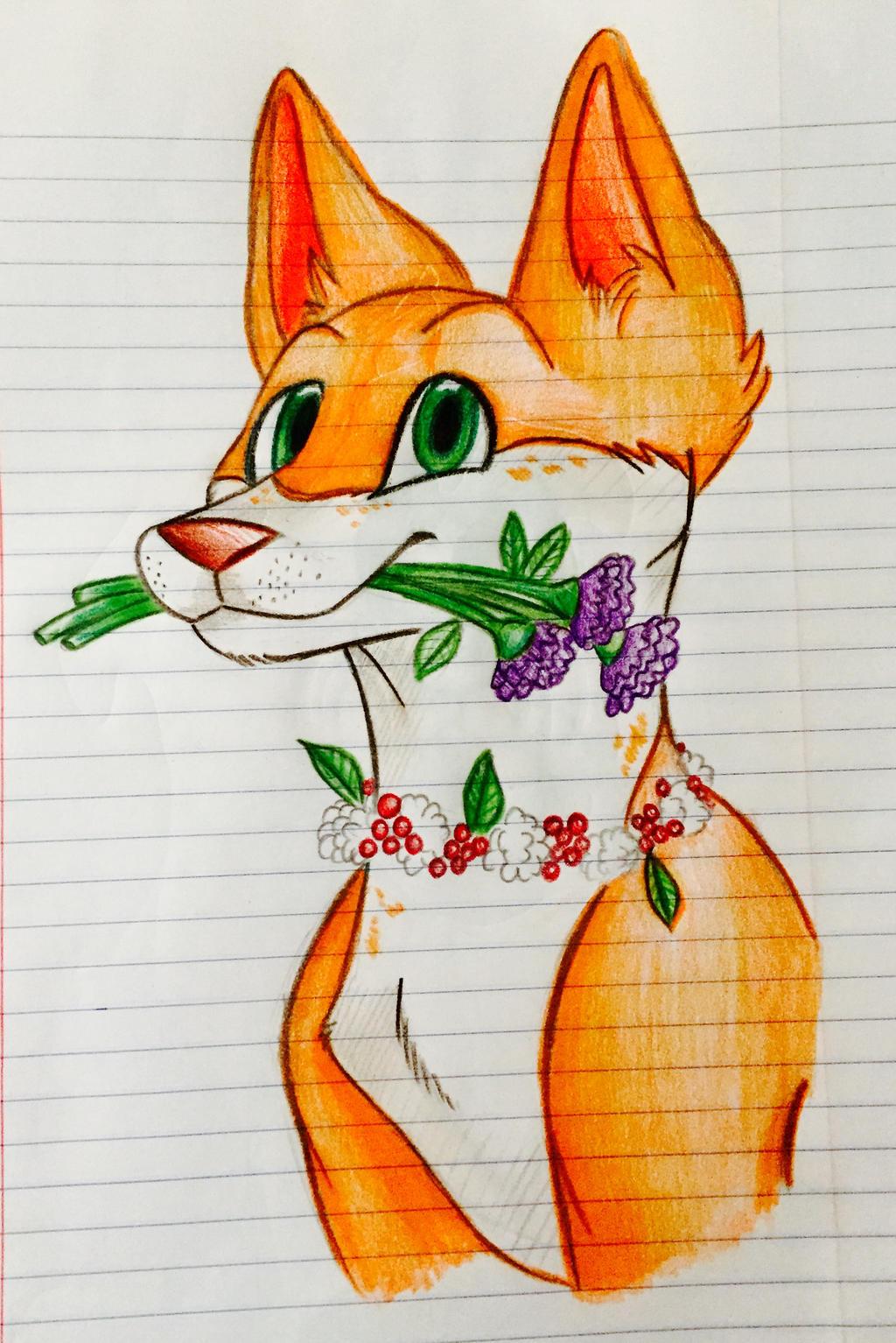 Flower Pup by veeeester400
