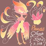 Adopt Phoenix female ::CLOSED:: by ChiquiPurr