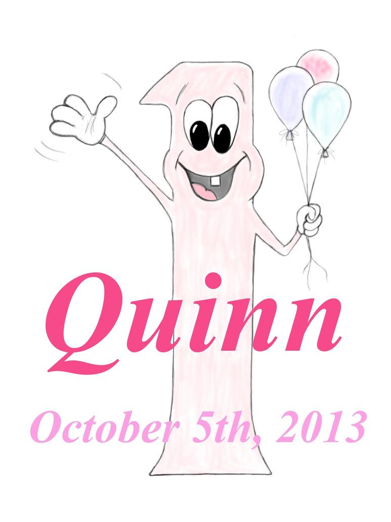 Quinn's 1st B-Day by 147CombatMedic