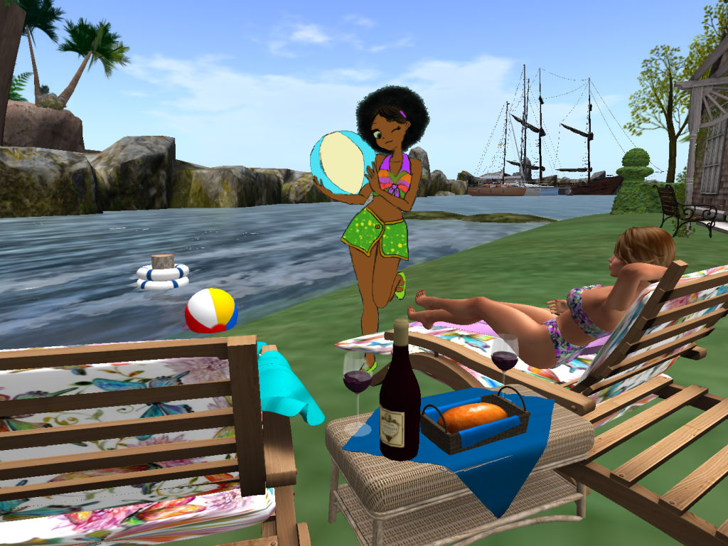 FANART - Beachball