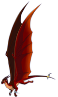 My skywing oc Whirlwind in animated wings style