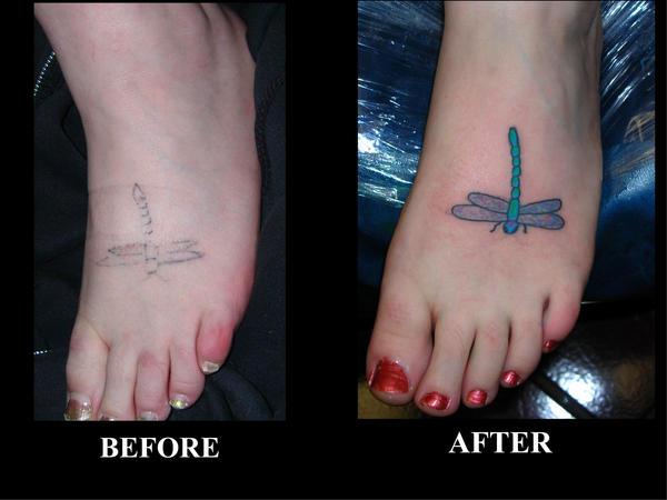 Melissa - Dragonfly - dragonfly tattoo
