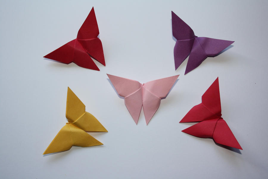 origami butterfly by kusu