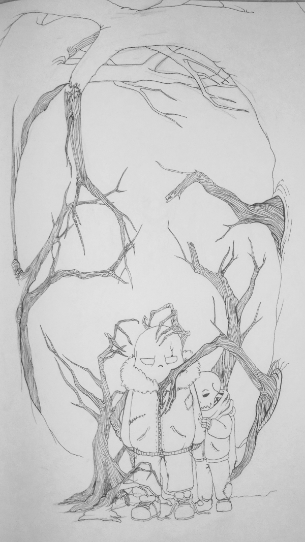 WIP 2 - Babes in the woods by NastyPug