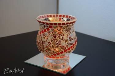 Crackle Mosaic 11 by EvaArtist by EvaArtist