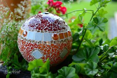 Crackle Mosaic 34 by EvaArtist by EvaArtist