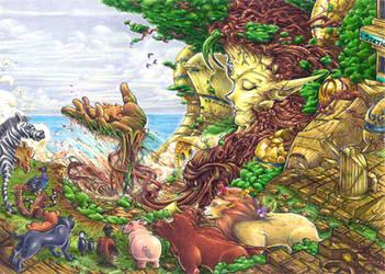 Mother Earth by maumanga
