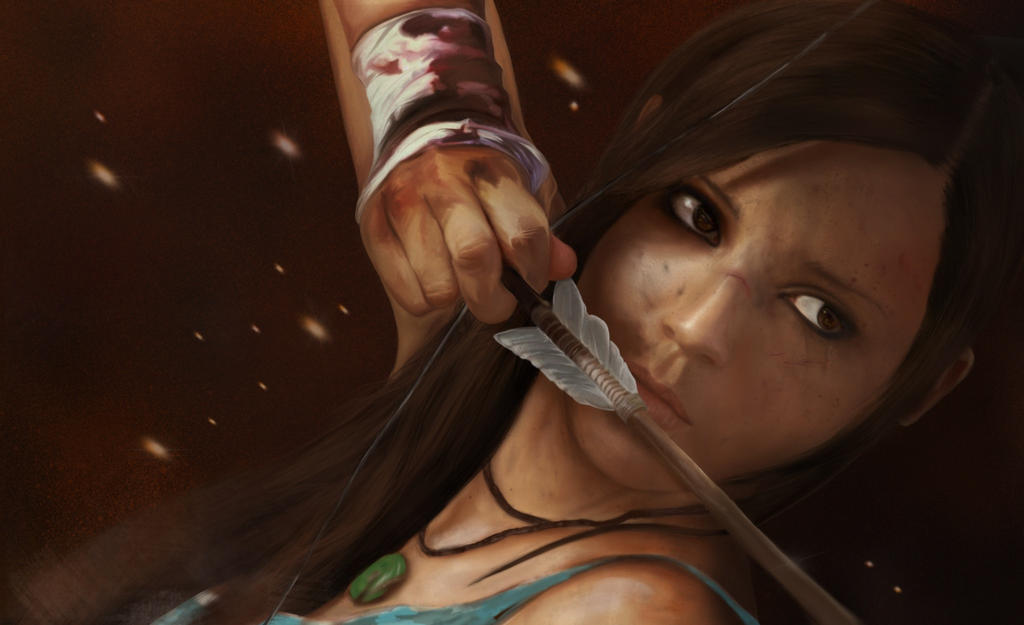 Lara Croft - Tomb Raider Reborn by ninjarts34
