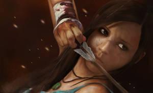 Lara Croft - Tomb Raider Reborn by Mark42m