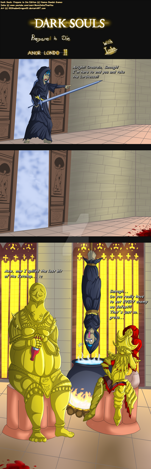 Dark Souls: Prepare to Cry:. 2 by 00ShadowDragon00 on DeviantArt