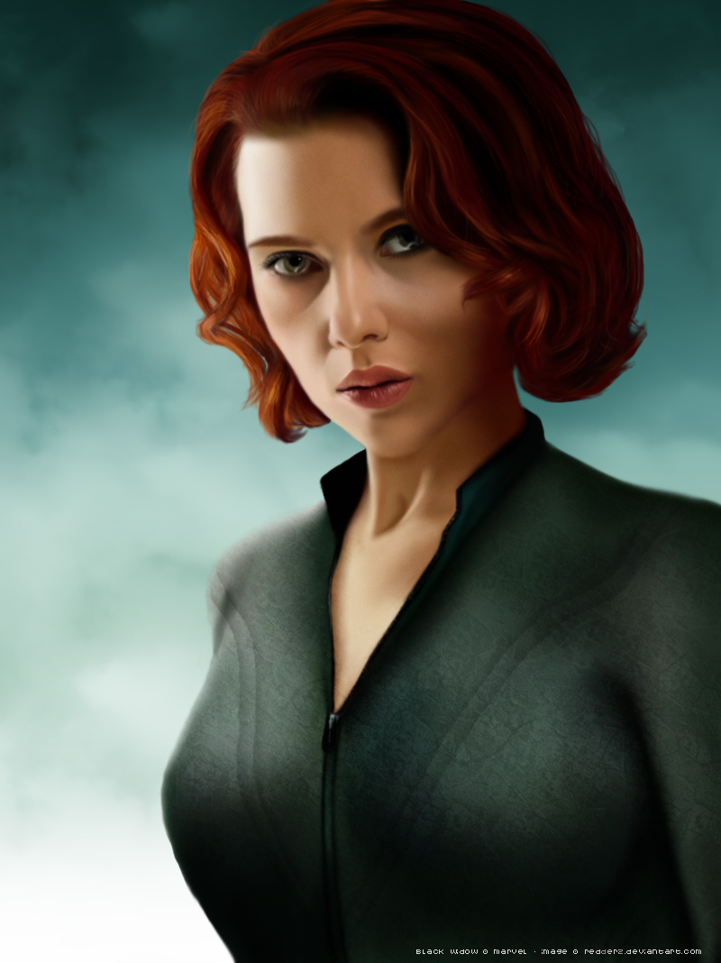 Black Widow by redderz