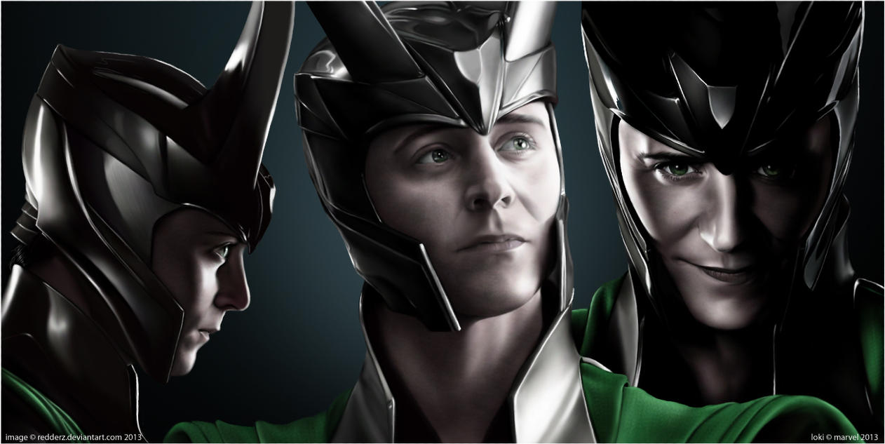God Of Mischief by redderz on DeviantArt