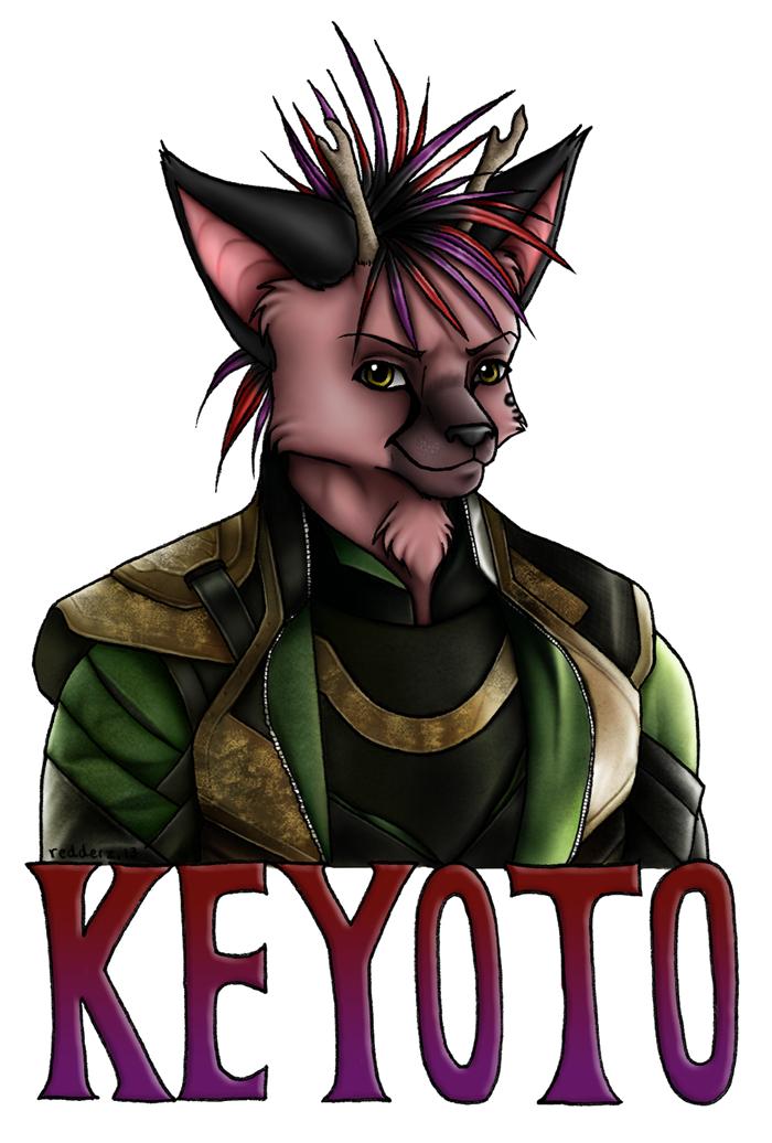 Keyoto Laufeyson by redderz