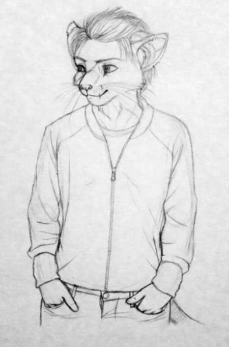 Marty Sketch by redderz
