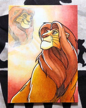 Inktober Day 20: The Lion King