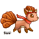 Point CM: Vulpix Sprite by starfire-wolf