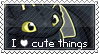 Stamp: I Love Cute Things by starfire-wolf