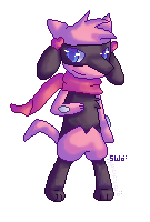 Pixelled Riolu by starfire-wolf