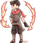 Mako Pixelled by starfire-wolf