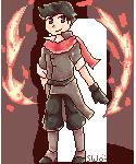 Mako Pixelled by starfire-wolf