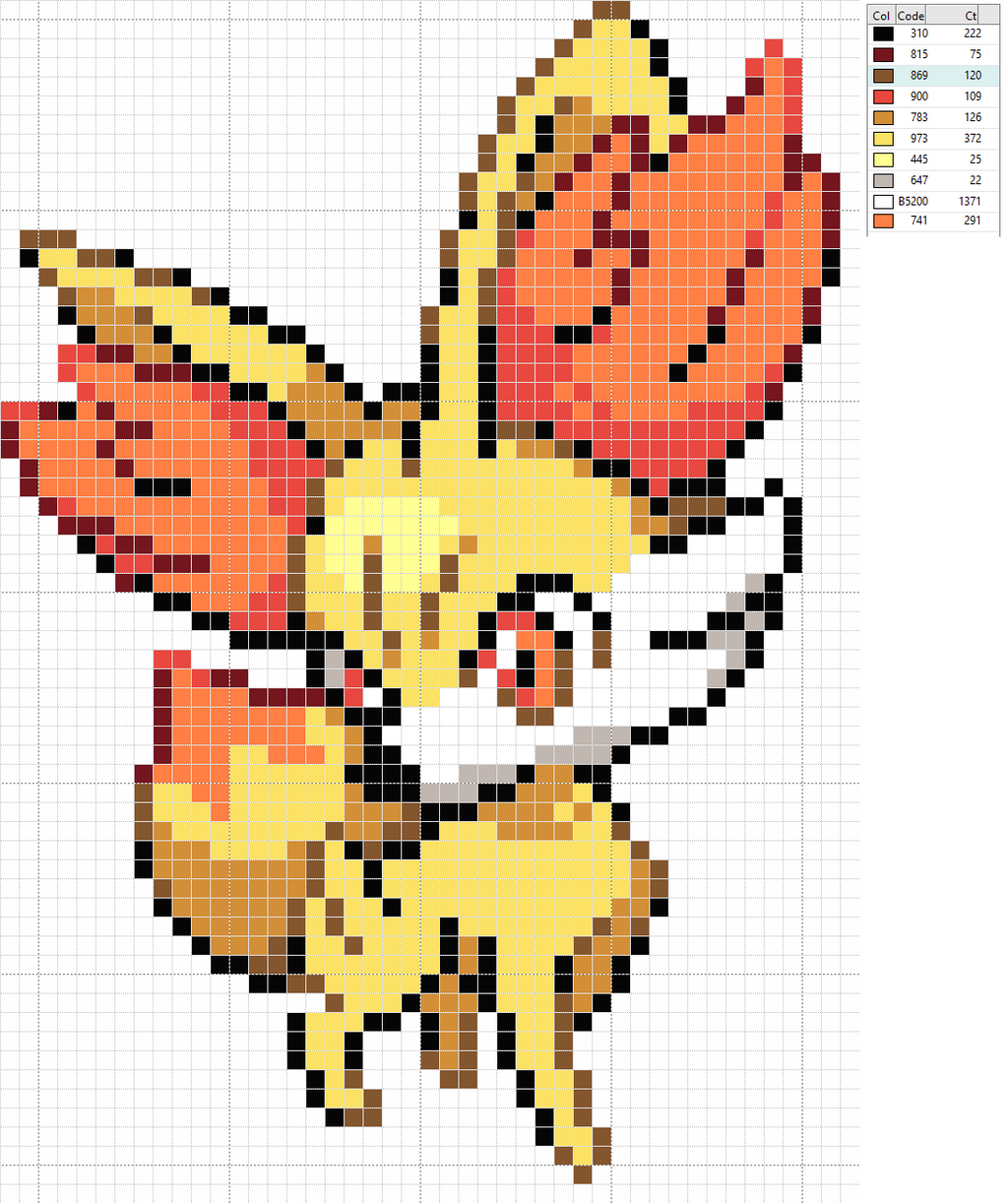 The images for --> Vulpix Pixel