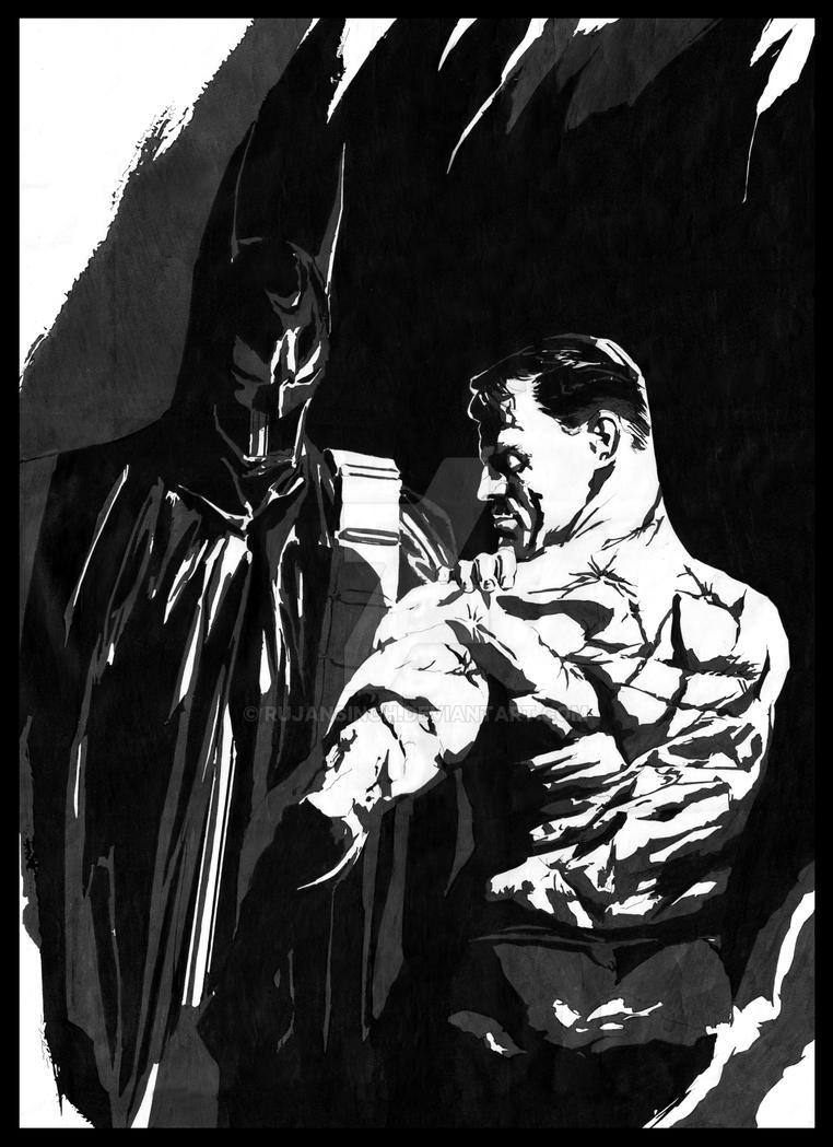 Batman Alex Ross by RujanSingh