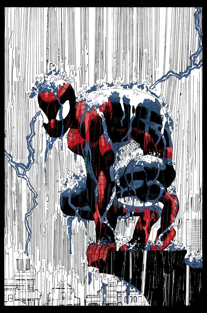 Spiderman by RujanSingh