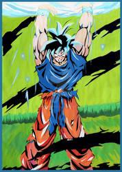Goku Spirit Bomb