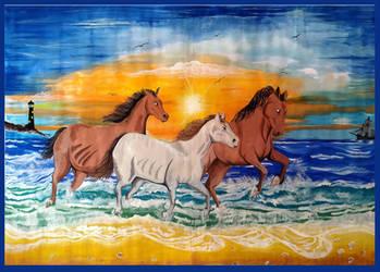 Urjina's Horses By the Sea