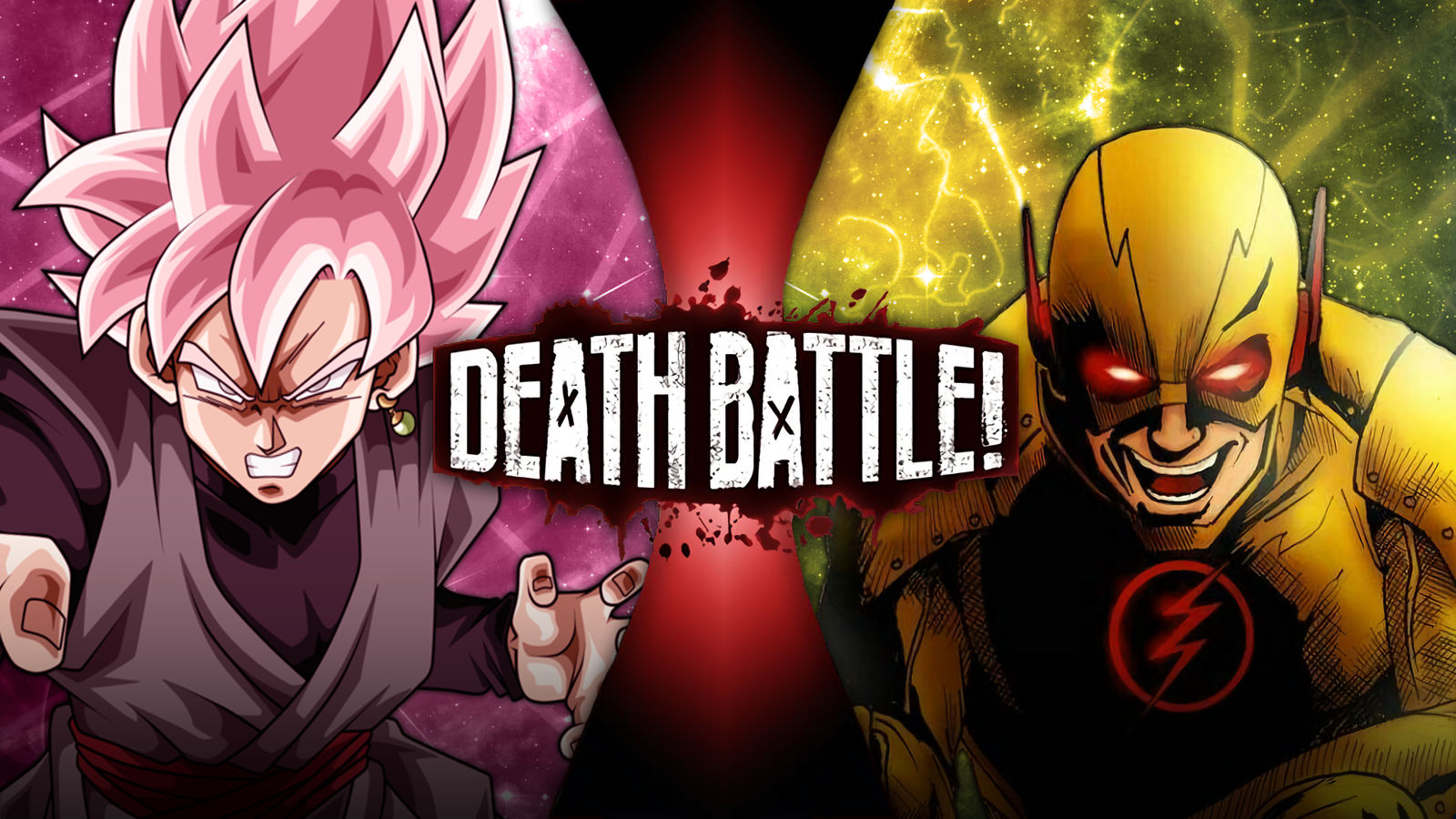 Goku Black Vs Reverse Flash Death Battle By Bruceu126 On Deviantart