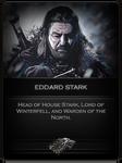 Eddard Stark Card