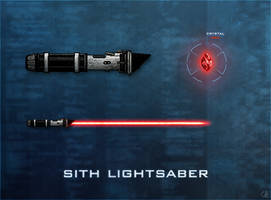 Sith Lightsaber by R1EMaNN