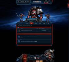 Warhammer 40k Site Temple Overlay by R1EMaNN