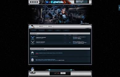 Star Wars Website Design