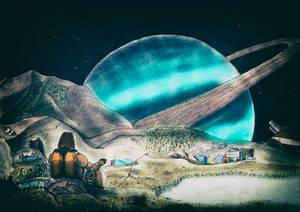 Sci Fi landscape #1