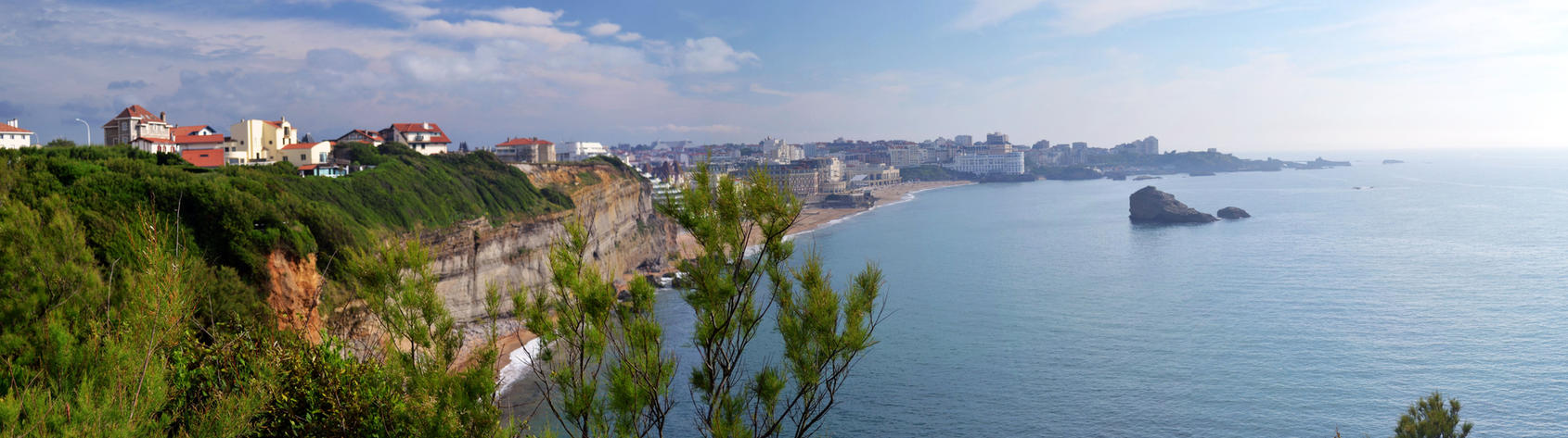 Biarritz - la cote basque by Aude-la-randonneuse
