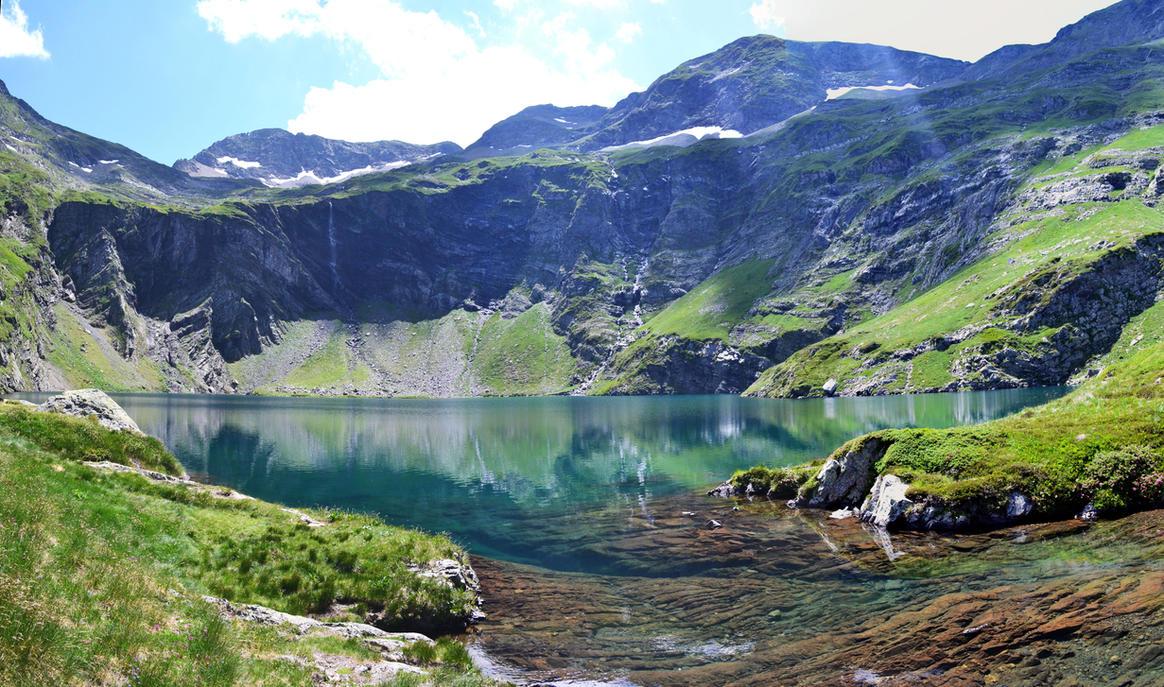 Lac d'Isabe by Aude-la-randonneuse