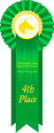 TLEC ATS Fourth Place Ribbon by TimberLakeLaneEC