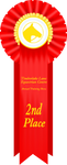 TLEC ATS Second Place Ribbon by TimberLakeLaneEC