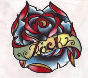 Rock'n Rose by InkyDinkyWho