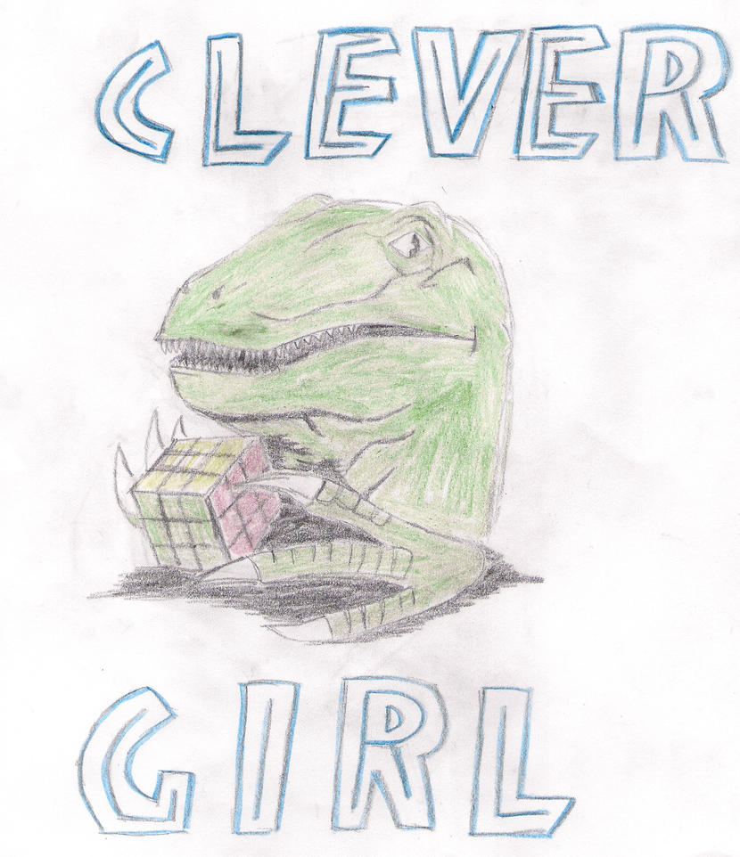 Clever Girl: Clever Girl By Effervescentshark On DeviantArt