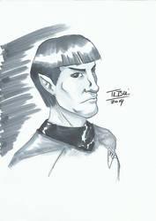 DoodleTu sketch - Spock