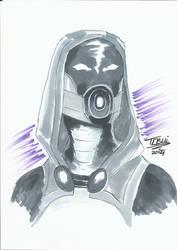 DoodleTu sketch - Tali'Zorah