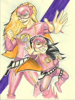 Mega Mindy and Mega Eva!