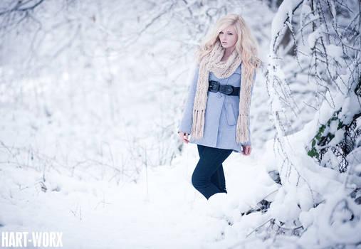 snow is like powder by Hart-Worx