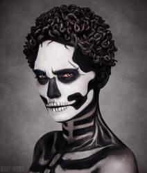 Skull with Brain by Hart-Worx