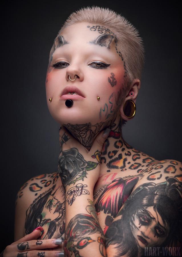 Ivonne by hart worx on deviantart for Tattoo punk porn